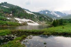 Ansicht von Altai Stockfotografie