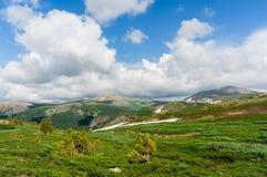Ansicht von Altai Stockfotos