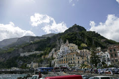Ansicht von Amalfi, Italien Lizenzfreie Stockbilder
