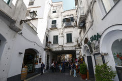 Ansicht von Amalfi, Italien Stockfotos