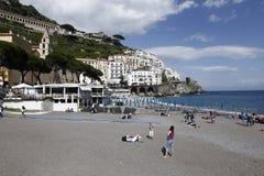 Ansicht von Amalfi, Italien Lizenzfreie Stockfotos