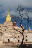 Ansicht von Ananda Temple Bagan myanmar Lizenzfreies Stockfoto
