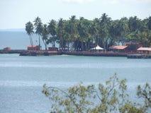 Ansicht von Andaman-Insel lizenzfreie stockfotografie