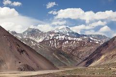 Ansicht von Anden Stockbild