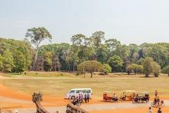 Ansicht von Angkor, Siem Riep, Kambodscha Lizenzfreie Stockfotos