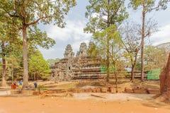Ansicht von Angkor, Siem Riep, Kambodscha Lizenzfreies Stockfoto