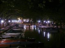 Ansicht von Annecy von den Pont DES-Lieben Stockfoto