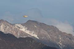 Ansicht von apuan Alpen Stockbilder