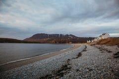 Ansicht von Ardmair-Strand, Schottland stockfoto