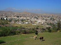Ansicht von Arequipa, Peru Stockbild