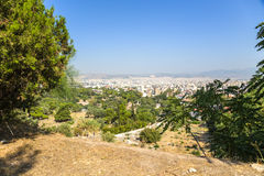 Ansicht von Athen Stockbild