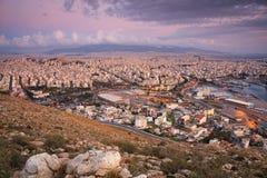 Ansicht von Athen Lizenzfreies Stockfoto