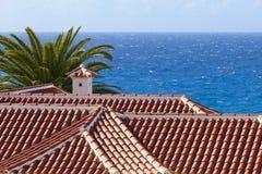 Ansicht von Atlantik Stockbilder