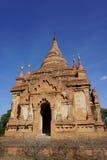 Ansicht von Bagan-Tempeln, Myanmar Lizenzfreies Stockfoto
