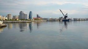 Ansicht von Baku-Stadt stock video footage