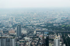 Ansicht von Bangkok Stockbild