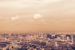 Ansicht von Bangkok Lizenzfreies Stockfoto