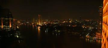 Ansicht von Bangkok Stockfotografie