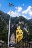 Ansicht von Batu-Höhle Stockfotos