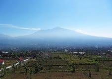 Ansicht von Batu, Malang-Hochländer Lizenzfreies Stockfoto