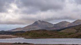 Ansicht von Berg Moel Hebog Nationalpark Snowdonia in Nord-Wales, Großbritannien stockfoto