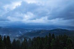 Ansicht von Bergen Lizenzfreies Stockfoto