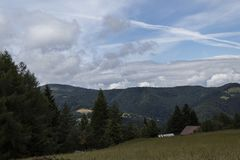 Ansicht von Bergen Lizenzfreies Stockbild