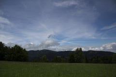Ansicht von Bergen Stockfotografie