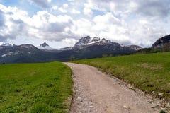Ansicht von Bergen stockfotos