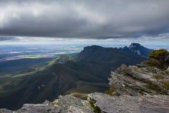 Ansicht von Bergen, Sterling Ranges Australia Lizenzfreie Stockfotografie