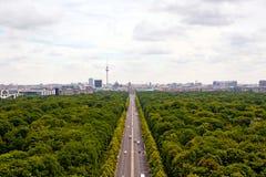 Ansicht von Berlin Stockfotografie