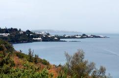 Ansicht von Bermuda von oben Stockbilder
