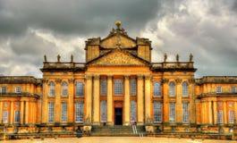 Ansicht von Blenheim-Palast - Oxfordshire Stockbilder
