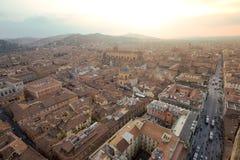 Ansicht von Bologna Stockbild