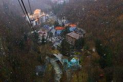 Ansicht von Borjomi-Stadt Lizenzfreie Stockfotografie