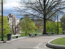 Ansicht von Boston-Common Lizenzfreie Stockbilder