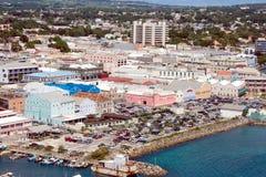 Ansicht von Bridgetown (Barbados) lizenzfreie stockfotos