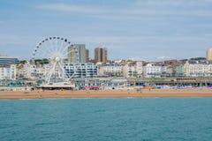 Ansicht von Brighton Seafront Lizenzfreie Stockbilder