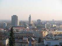 Ansicht von Brno auf Å-pilberk stockbilder
