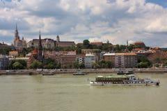 Ansicht von Buda, Budapest lizenzfreie stockbilder