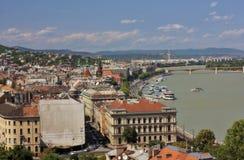 Ansicht von Buda, Budapest stockfoto