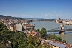 Ansicht von Buda, Budapest stockfotografie