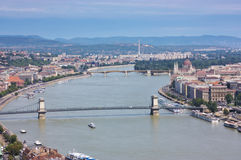 Ansicht von Budapest lizenzfreie stockbilder
