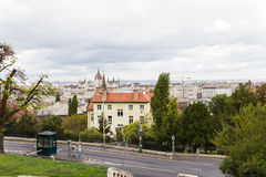 Ansicht von Budapest Stockfotos