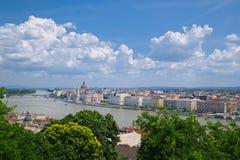 Ansicht von Budapest, Ungarn Lizenzfreie Stockfotos