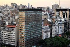 Ansicht von Buenos Aires, Argentinien bei Sonnenuntergang Lizenzfreies Stockfoto