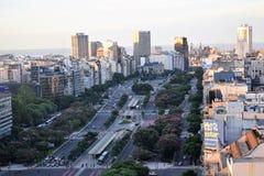 Ansicht von Buenos Aires, Argentinien, 18. von Februar von 2017 Lizenzfreies Stockfoto