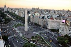 Ansicht von Buenos Aires, Argentinien, 18. von Februar von 2017 Lizenzfreie Stockbilder