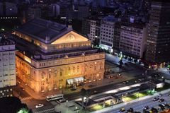 Ansicht von Buenos Aires, Argentinien, 18. von Februar von 2017 Stockfotos