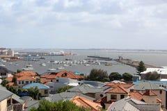Ansicht von Bunbury Kanal Westaustralien lizenzfreies stockbild